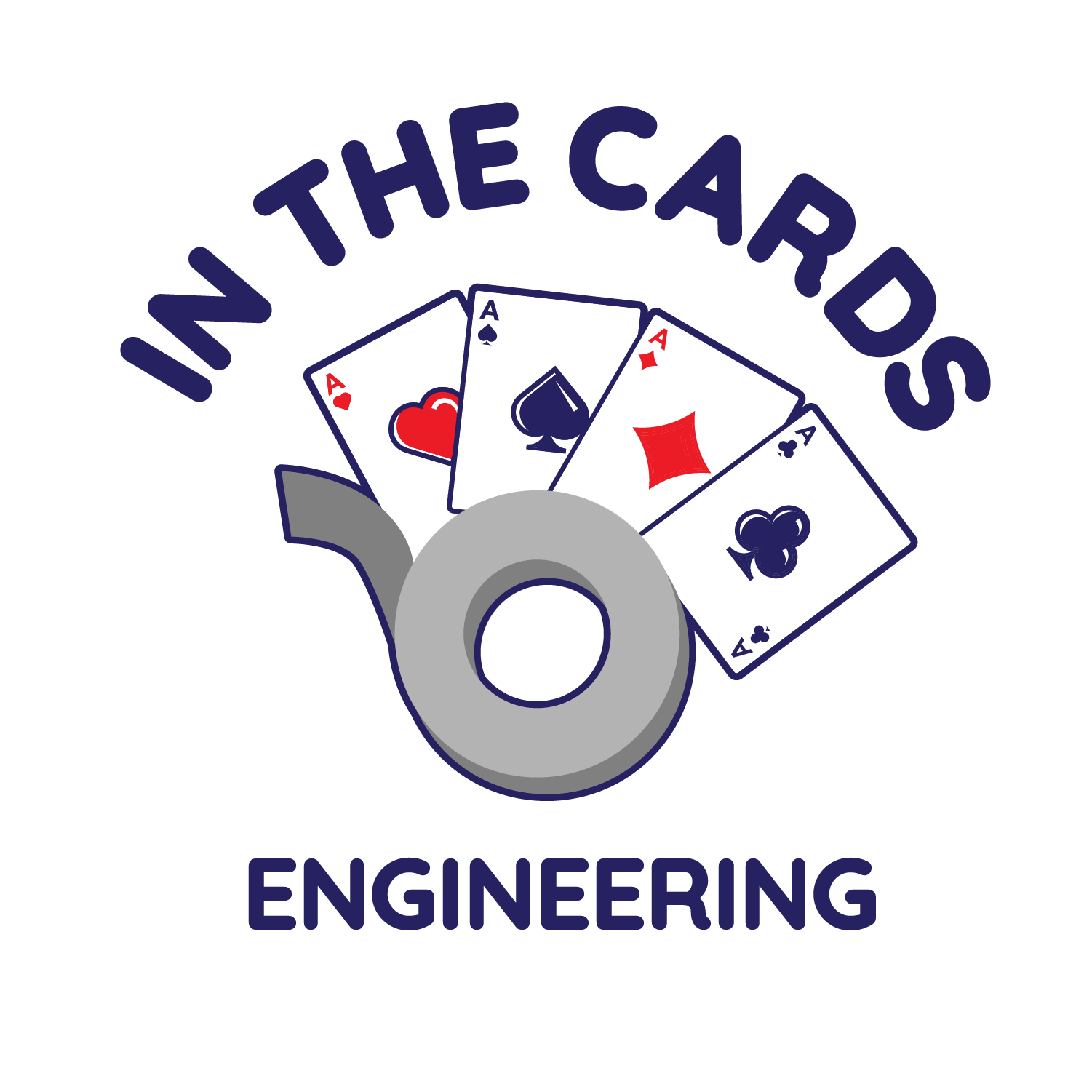 19 20 Challenge Logo In the Cards Engineering Dark RGB